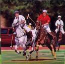 polo horse & rider
