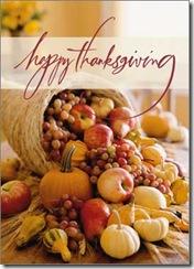 happy thanksgiving - basket